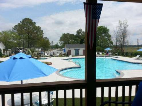 Raleigh Oaks RV Resort in Four Oaks North Carolina19