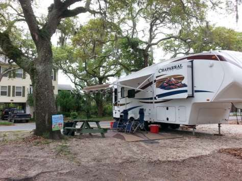Rivers End Campground & RV Park in Tybee Island Georgia11
