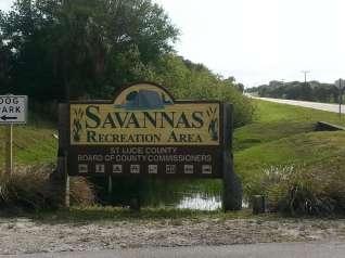 Savannas Recreation Area in Fort Pierce Florida