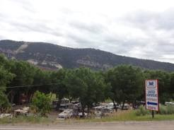 United Campground from road