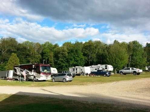 White Birches Camping Park in Gorham1