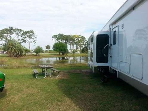 Wickham Park Campground in Melbourne Florida1