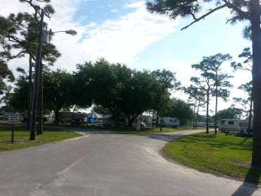 Wickham Park Campground in Melbourne Florida9