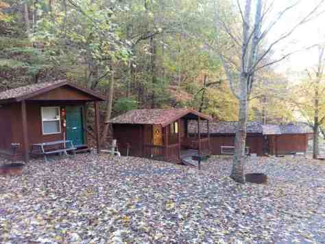 Alpine Hideaway Campground & RV Park in Pigeon Forge Tennessee Cabins