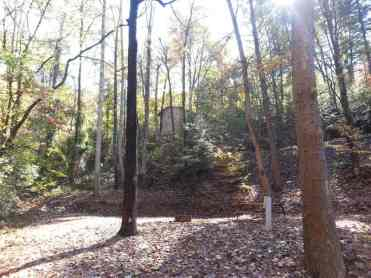 Alpine Hideaway Campground & RV Park in Pigeon Forge Tennessee Tent Site