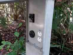 Anastasia State Park in St. Augustine Florida Electric Hookups