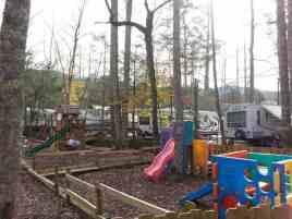 Arrow Creek Campground in Gatlinburg Tennessee Playground