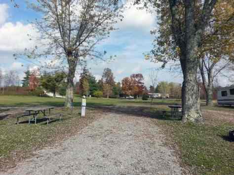 Ballyhoo Family Campground in Crossville Tennessee Pull Thru