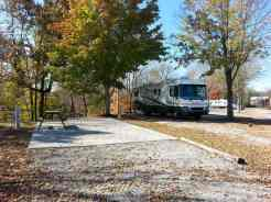 Big Meadow Family Campground in Townsend Tennessee Backin