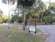 Bill Frederick Park and Pool at Turkey Lake in Orlando Florida Sign