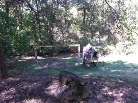 Blue Mountain Campground in Reeds Spring Missouri Playground