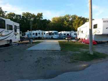 Branson Lakeside RV Park in Branson Missouri Pull thru