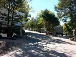 Branson Shenanigans RV Park in Branson Missouri Hill and Terracing