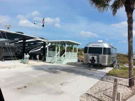 Bryn Mawr Ocean Resort in Saint Augustine Florida Ocean Front Sites