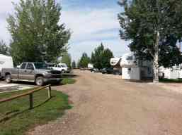 Buffalo KOA in Buffalo Wyoming Roadway