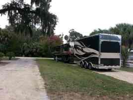Bulow RV Resort in Flagler Beach Florida Pull thru