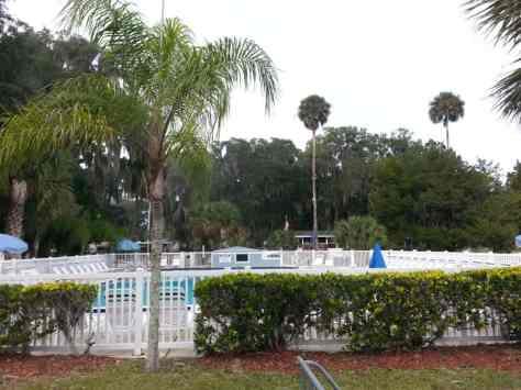 Bulow RV Resort in Flagler Beach Florida Pool