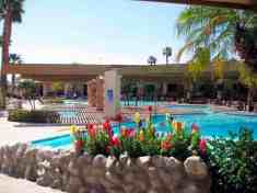 Caliente Springs RV Resort in Desert Hot Springs California Pool
