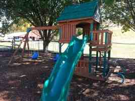 Claboughs Campground in Pigeon Forge Tennessee small playground