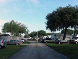 Clearwater Travel Resort in Clearwater Florida Roadway