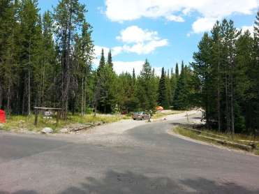 Colter Bay Village Campground And Rv Park Moran Wyoming