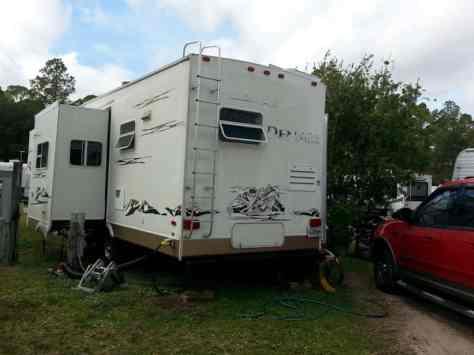 Cooksey's RV Park in Saint Augustine Florida Pull Thru