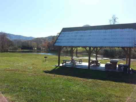 Cove Mountain Resorts RV Park in Sevierville Tennessee Picnic Pavilion