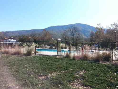 Cove Creek RV Resort in Sevierville (Wears Valley) Tennessee Pool