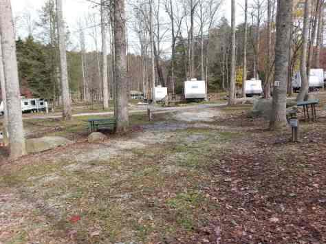 Adventure Bound Camping Resorts Crazy Horse Campground in Gatlinburg Tennessee Pull Thru