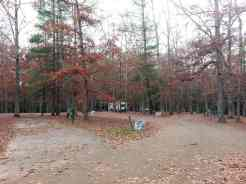 Cumberland Mountain State Park in Crossville Tennessee full hookup Loop A