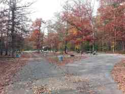 Cumberland Mountain State Park in Crossville Tennessee Partial Hookups in open