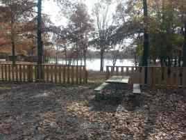 Deer Run RV Resort in Crossville Tennessee Water View Site