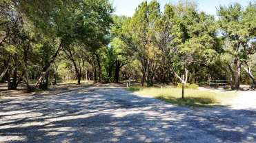 Dinosaur Valley State Park Campground Glen Rose Texas