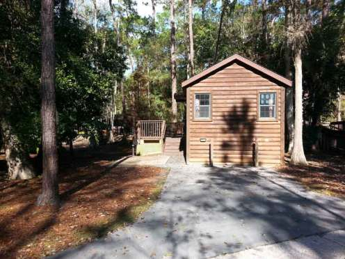 The Campsites at Disney's Fort Wilderness Resort in Lake Buena Vista Florida Cabins