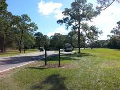 The Campsites at Disney's Fort Wilderness Resort in Lake Buena Vista Florida Hookup Area