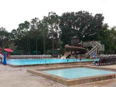 The Campsites at Disney's Fort Wilderness Resort in Lake Buena Vista Florida Pool (one of them)