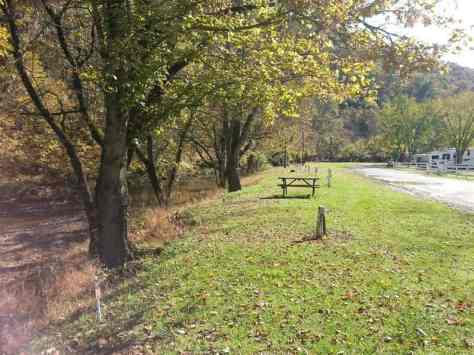 Eagle's Nest Campground in Pigeon Forge Tennessee River Side Sites