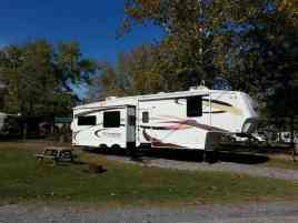 Eagle's Nest Campground in Pigeon Forge Tennessee Pull thru