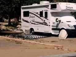 Glen Eden Nudist Resort in Corona California Partial Hookup RV Site