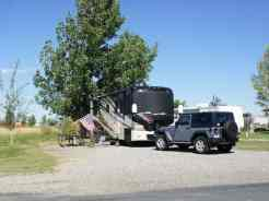 Grandview Camp and RV Park in Hardin Montana Back in
