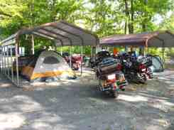 Greenbrier River Campground in Alderson West Virginia Group Sites