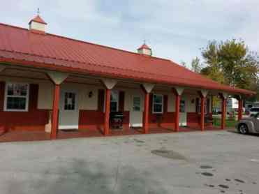 Griffs Valley View RV Park in Altoona Iowa Rec Room