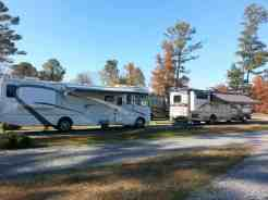 Harvest Moon RV Park in Adairsville Georgia Double Pull thru