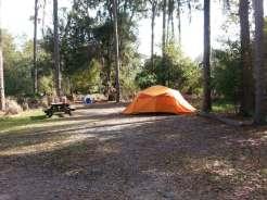Hillsborough River State Park in Thonotosassa Florida Tent Site