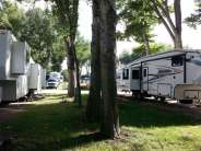 Indian Campground and RV Park in Buffalo Wyoming Good Spacing
