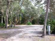 Indian Forest Campground in Saint Augustine Florida Pull thru