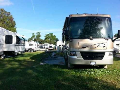 Indian Rocks Travel Park in Largo Florida RV Site