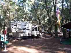 Jekyll Island Campground in Jekyll Island Georgia Seasonal Guests