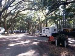 Jekyll Island Campground in Jekyll Island Georgia Entrance