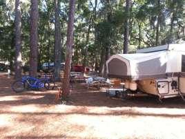Jekyll Island Campground in Jekyll Island Georgia Short Term Sites